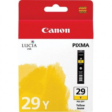 Cartus, yellow, CANON PGI-29Y