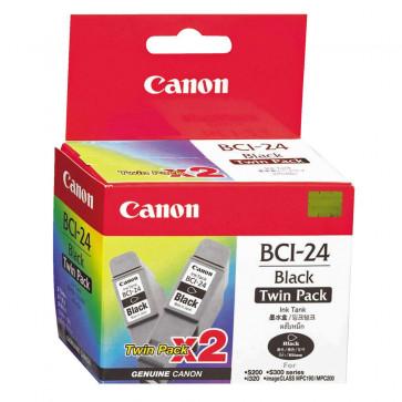 Cartus, black, CANON BCI24BK 2 buc/set