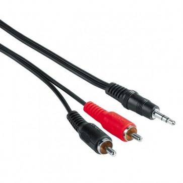 Cablu audio RCA - Jack 3.5mm HAMA, 5m