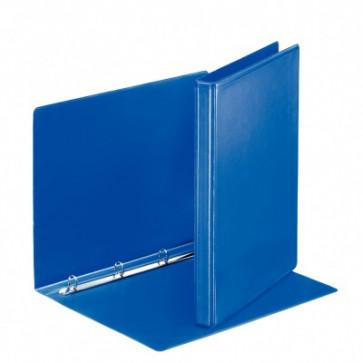 Caiet mecanic, A4, 4 inele RR, inel 16 mm, cotor 3.0cm, albastru, ESSELTE Panorama