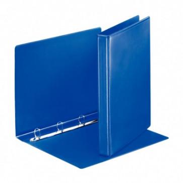 Caiet mecanic, A4, 4 inele DR, inel 20 mm, cotor 3.8cm, albastru, ESSELTE Panorama