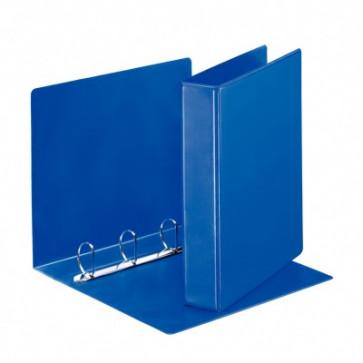 Caiet mecanic, A4, 4 inele DR, inel 40 mm, cotor 6.2cm, albastru, ESSELTE Panorama