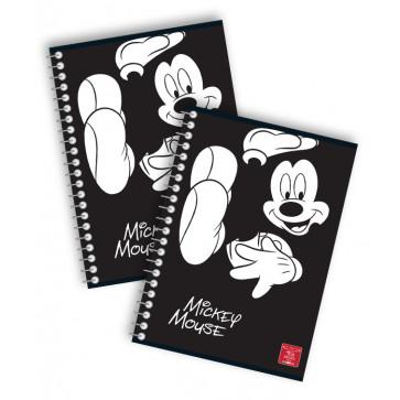 Caiet cu spira, A5, 80 file, dictando, PIGNA Premium Mickey Mouse