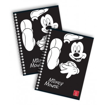 Caiet cu spira, A5, 80 file, matematica, PIGNA Premium Mickey Mouse