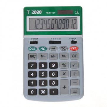 Calculator de birou, 12 digit, verde, T2000 TM6063
