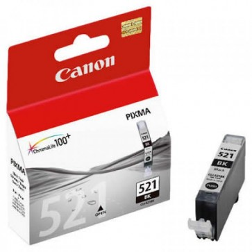 Cartus, black, CANON CLI521BK
