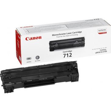 Toner, black, CANON CRG-712
