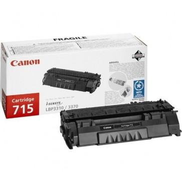 Toner, black, CANON CRG-715
