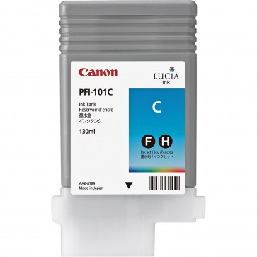 Cartus, cyan, CANON PFI101C