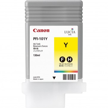 Cartus, yellow, CANON PFI-101Y