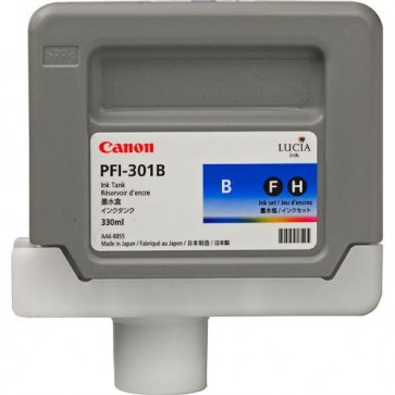 Cartus, blue, CANON PFI-301B