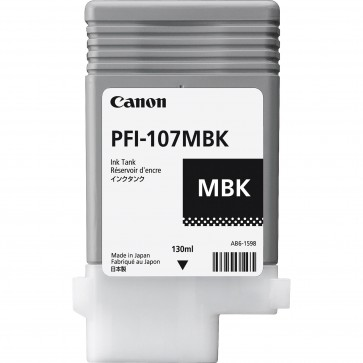 Cartus, matte black, CANON PFI-107MB
