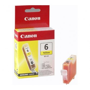 Cartus, yellow, CANON BCI6Y