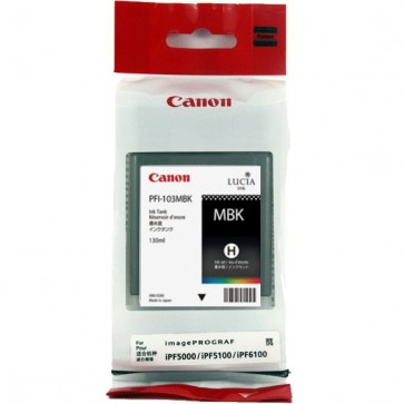 Cartus, matte black, CANON PFI101MBK