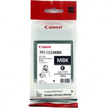 Cartus, matte black, CANON PFI103MBK