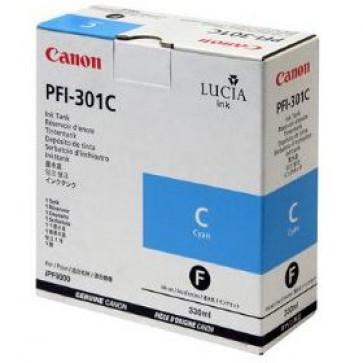 Cartus, cyan, CANON PFI-301C