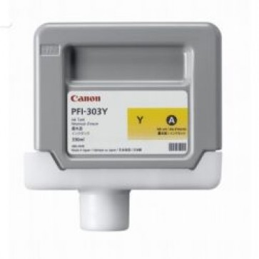 Cartus, yellow, CANON PFI303Y