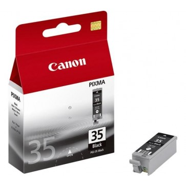 Cartus, black, CANON PGI-35