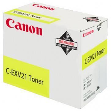 Toner, yellow, CANON C-EXV21Y