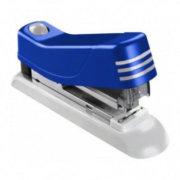 Capsator de birou, pentru maxim 20 coli, capse 24/6, albastru, LACO H500 Flat Clinch