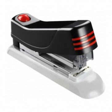 Capsator de birou, pentru maxim 20 coli, capse 24/6, negru, LACO H500 Flat Clinch