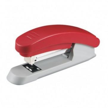 Capsator de birou, pentru maxim 25 coli, capse 24/6, rosu, LACO H2000