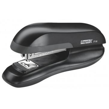 Capsator max. 20 coli, negru, RAPID Fashion F16