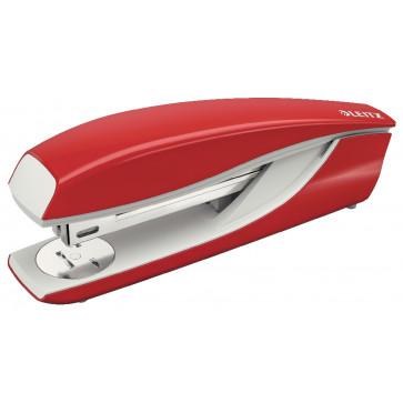Capsator metalic de birou, pentru maxim 40 coli, capse 24/8, rosu, LEITZ 5504 NeXXt Series