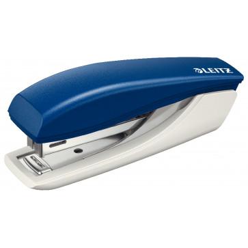 Capsator plastic de birou, pentru maxim 10 coli, capse 10/5, albastru, LEITZ 5517 NeXXt Series