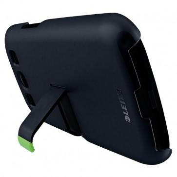 Carcasa Complete cu stativ pentru Samsung Galaxy S3, negru, LEITZ