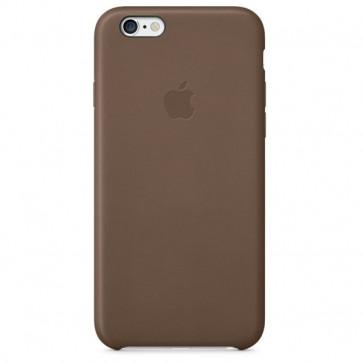 Carcasa din piele pentru iPhone 6, APPLE mgr22zm/a, Olive Brown