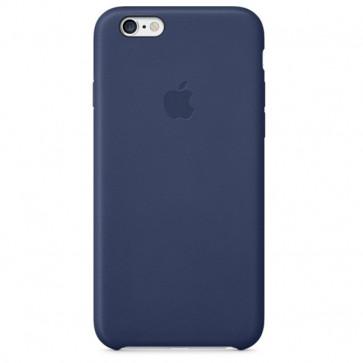 Carcasa din piele pentru iPhone 6, APPLE mgr32zm/a, Midnight Blue