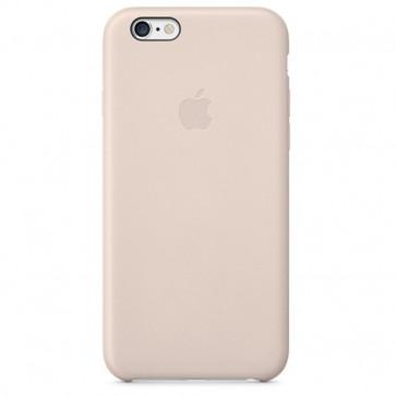 Carcasa din piele pentru iPhone 6, APPLE mgr52zm/a, Soft Pink