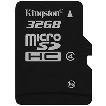 Card microSDHC 32GB KINGSTON, Class 4