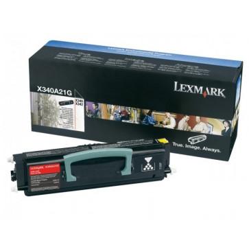 Toner, black, LEXMARK X340A21G