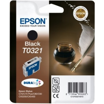 Cartus, black, EPSON T032140