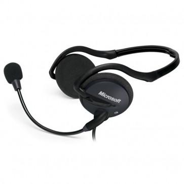 Casti PC MICROSOFT LifeChat LX-2000, Jack 3.5mm, negru