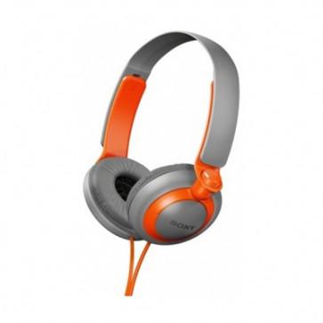 Casti, orange/gri, SONY Extra Bass MDR-XB200D