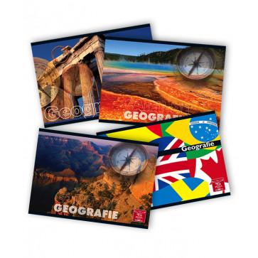 Caiet pentru geografie, 17 x 24cm, 24 file, PIGNA Clasic