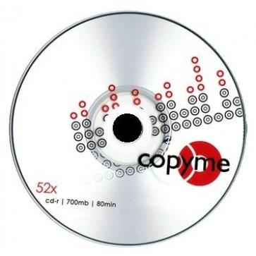 CD-R, 700MB, 52X, 10 buc/bulk, COPYME