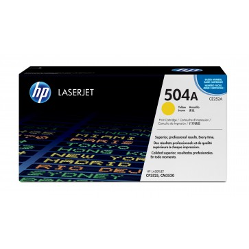 Toner, yellow, Nr. 504A, HP CE252A