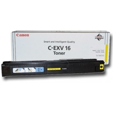 Toner, yellow, CANON C-EXV16Y