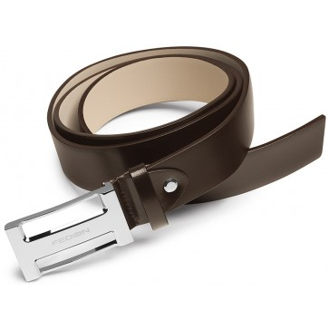 Curea maro, din piele de bovina, FEDON Belts Cint-U10