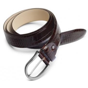 Curea maro, din piele de bovina, FEDON Belts Cint-U14