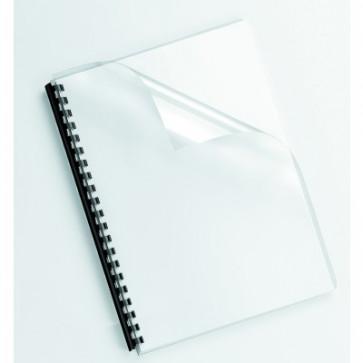Coperti transparente, cristal, A3, 200 microni, 100 buc/top, FELLOWES