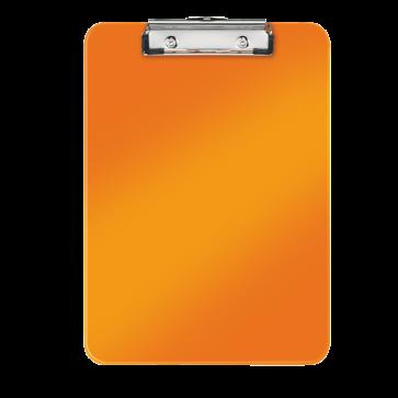Clipboard A4, portocaliu metalizat, LEITZ WOW