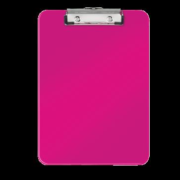 Clipboard A4, roz metalizat, LEITZ WOW
