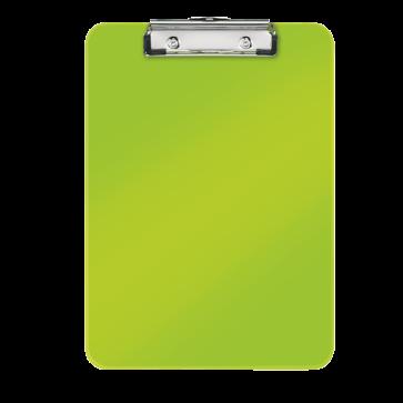 Clipboard A4, verde metalizat, LEITZ WOW