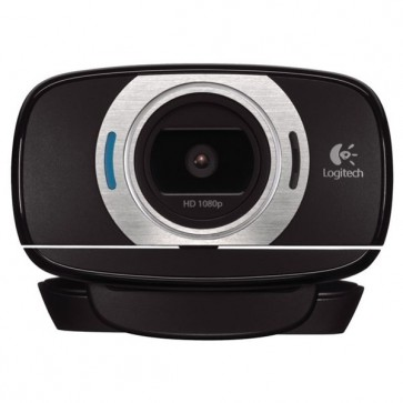 Camera Web, 1920 x 1080 pixeli, negru, LOGITECH HD C615
