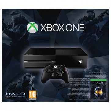 Consola XBOX One 500 GB (fara kinect) + Halo: The Master Chief Collection (cod download)